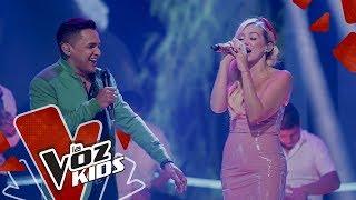 Fanny Lu y Jorge Celedón cantan Cosas Bonitas – Batallas | La Voz Kids Colombia 2019