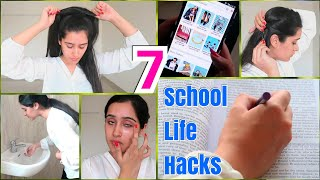 Top 7 School Life Hacks for Teenage Girls + Acne Removal Remedy! | That Glam Girl