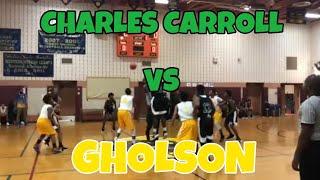 Charles Carroll vs Greenbelt  -Marvin And Joel Guthrie - Coach Dunbar