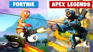 FORTNITE vs APEX LEGENDS (Which Game is Better)..!