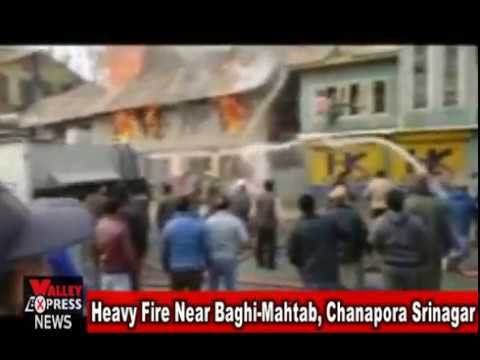 Heavy Fire Near Baghi Mahtab, Chanapora Srinagar