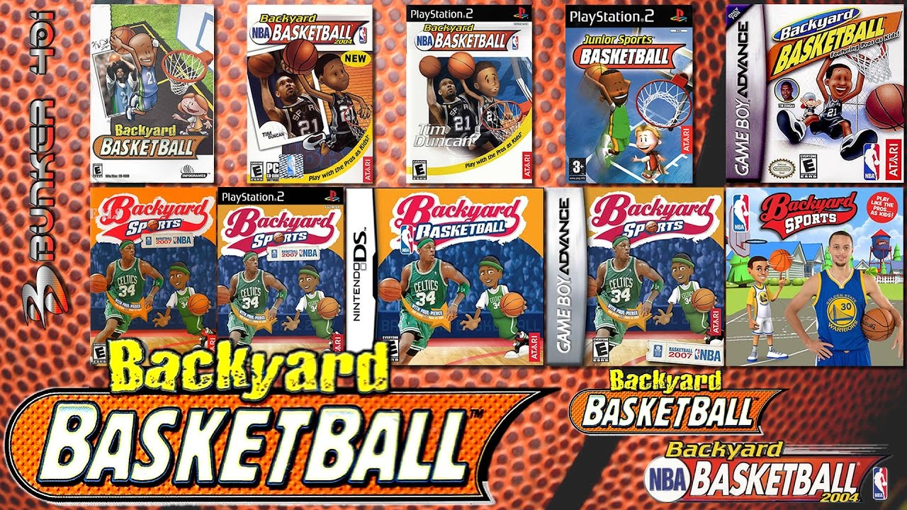 backyard basketball 2001 pc 2004 gba pc ps2 gameplay youtube