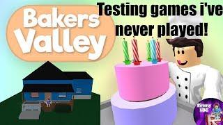 Testare i giochi Di Roblox che non ho mai giocato #6 Valle dei Bakers
