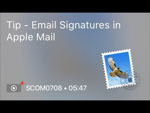 How to set up a signature on iphone email with outlook  mac