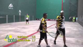 Mx Frontour - Frontenis - Final torneo de exhibición por Guerrero (Charro/Mario vs. Peredo/Turi)