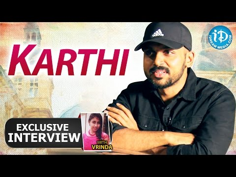 Oopiri Movie || Actor Karthi Exclusive Interview || Talking Movies with iDream # 140