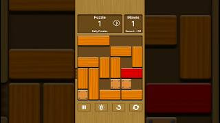 Unblock Me: Daily Puzzle Level 1 [Perfect Moves]