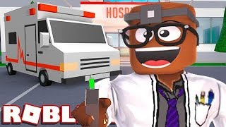 BUILDING A HOSPITAL IN ROBLOX (Roblox Hospital Tycoon)