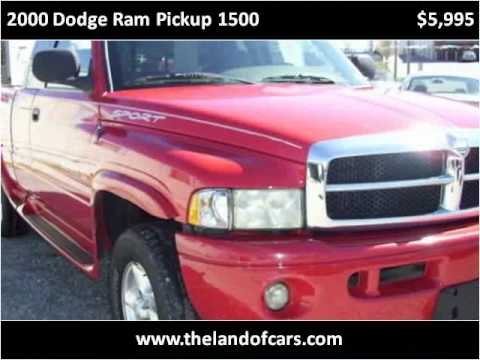 2000 dodge ram pickup 1500 used cars st joseph mo youtube. Black Bedroom Furniture Sets. Home Design Ideas