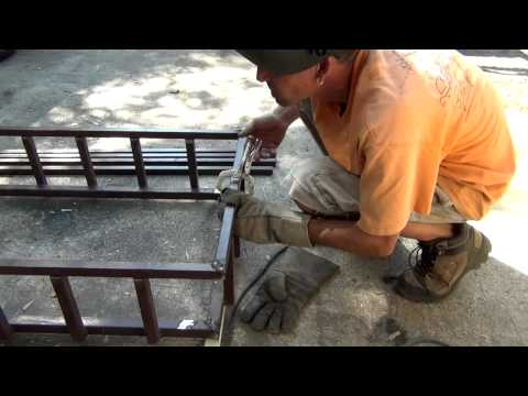 How To: Weld a Cargo Carrier From Junk, Scrap Steel