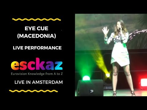 ESCKAZ in Amsterdam: Eye Cue (Macedonia) - Lost And Found