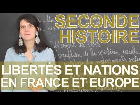 Libertés et nations en France et Europe (début 19e) - Histoire-Géographie - Seconde - Les Bons Profs