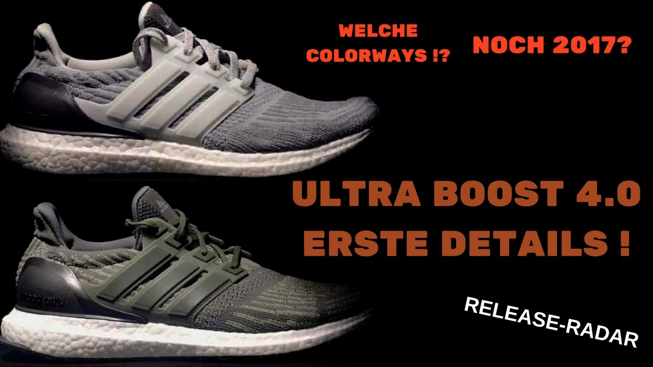 adidas ultra boost 4.0 vs 3.0