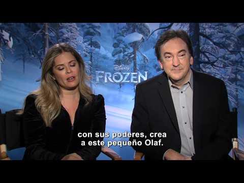Frozen: Una Aventura Congelada - Entrevista Jennifer Lee y Peter Del Vecho