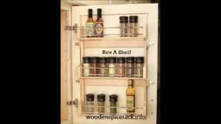 Wooden Spice Rack, The Essential Complement To Your Kitchen