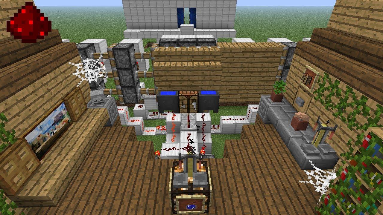 Minecraft Tutoriel Le Mur Magique Youtube