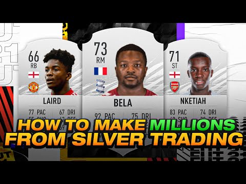 HOW TO MAKE MILLIONS OF COINS FROM SILVER TRADING! THE BEST LOW BUDGET METHOD! FIFA 21