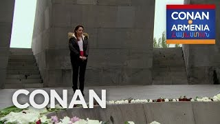 Sona Visits The Armenian Genocide Memorial  - CONAN on TBS