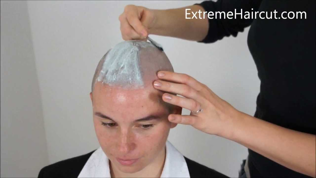 Xenias Lame Hairstyles Extremehaircut Model Youtube