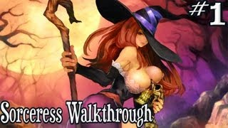 Dragon's Crown: Sorceress Walkthrough Gameplay (PS3/PSVITA) | Part 1 - Starting the Adventure