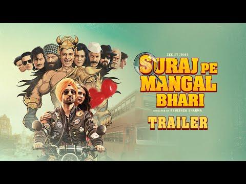 Suraj Pe Mangal Bhari | Official Trailer | Diljit | Manoj | Fatima | Abhishek Sharma | This Diwali