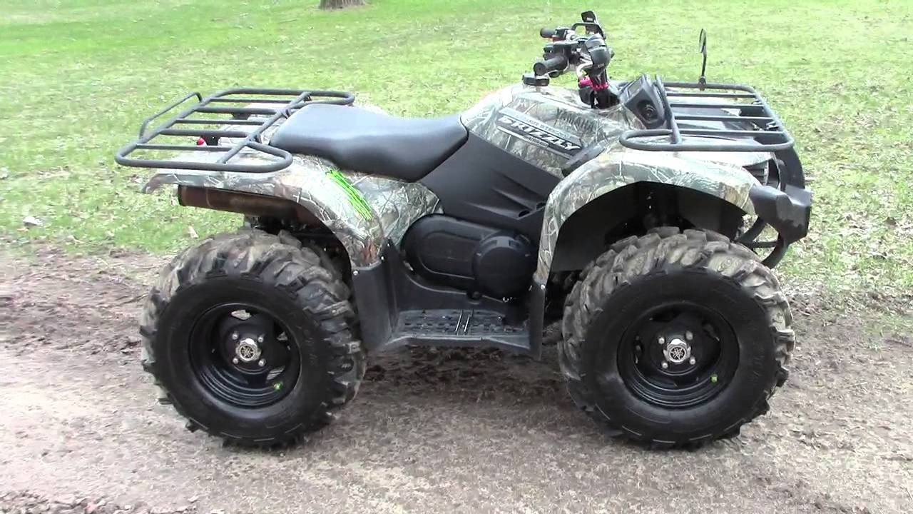2012 yamaha grizzly 450 eps youtube