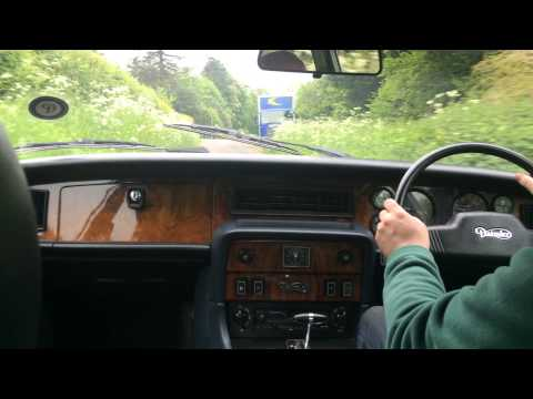 Daimler Sovereign 4.2 Auto 1983 Test Drive - Bradley James Classics