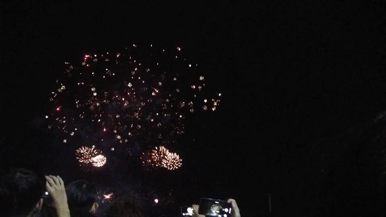 2019년 여수 불꽃축제(여수밤바다노래)