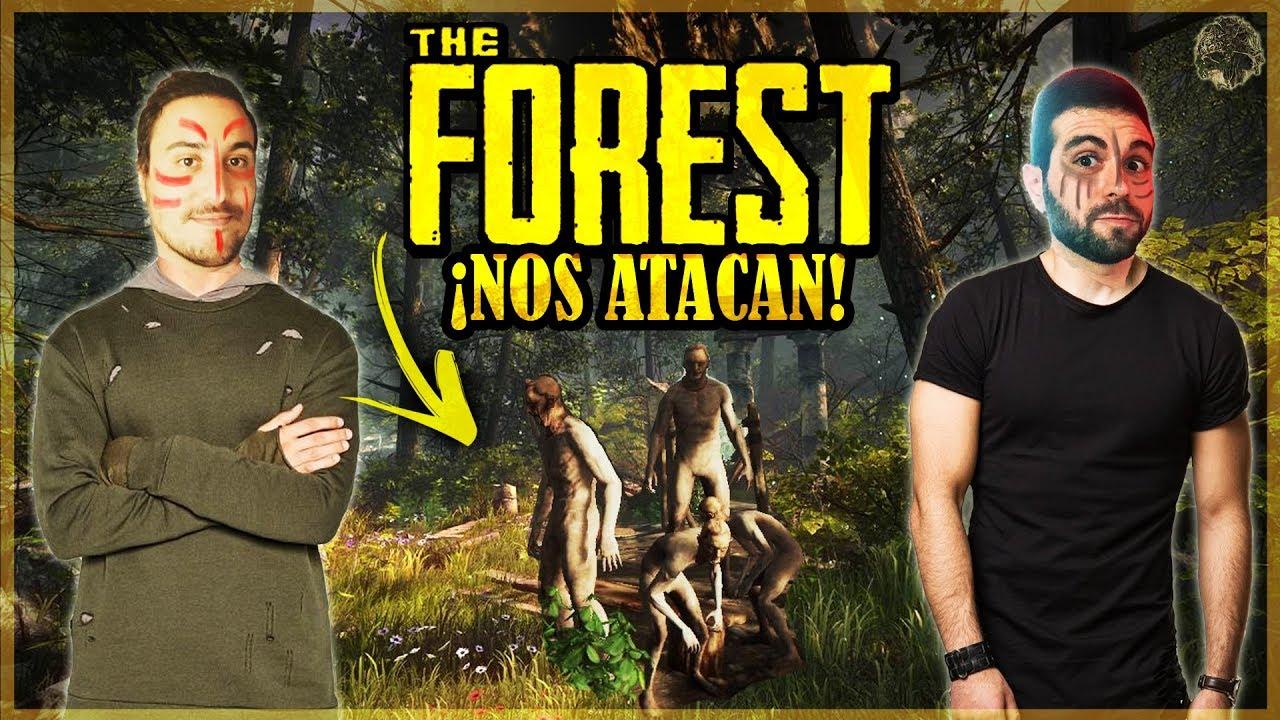 UNA TRIBU INTENTA COMERNOS, MI PRIMERA VEZ EN THE FOREST! #1