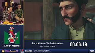 #ESASummer18 - Sherlock Holmes: The Devil's Daughter [Any%] by Der_Finger