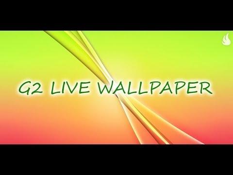 G2 Live Wallpaper - YouTube