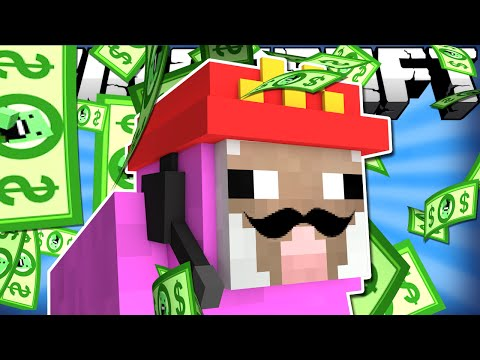 Thumbnail: If Pink Sheep Got a Job - Minecraft