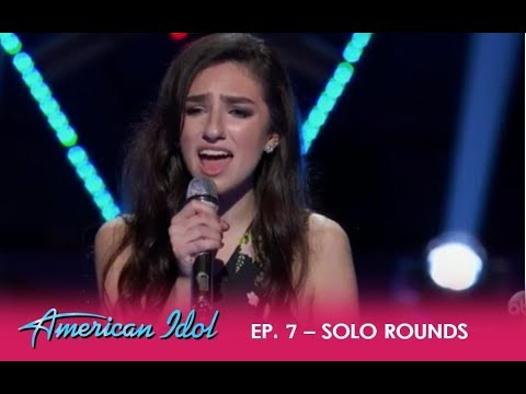 Genavieve Linkowski: Young YouTube Sensation Tries To Impress At Hollywood Week | American Idol 2018