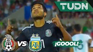 ¿Penal? Aguirre anota el segundo | México 2 - 1 Argentina | Amistoso Sub 22 | TUDN