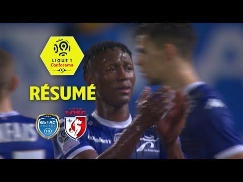 ESTAC Troyes - LOSC (1-0)  - Résumé - (ESTAC - LOSC) / 2017-18