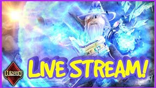NEW UPDATE IN WIZARD SIMULATOR!! FAMILY FRIENDLY ROBLOX LIVE STREAM!!