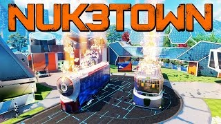 Black Ops 3: NUKETOWN Bonus Map Trailer - New Specialist Masks, Wall Running & More!