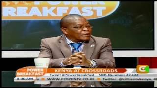 Power Breakfast: Kenya at Crossroads