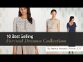 10 Best Selling Formal Dresses Collection By Jessica Howard, Winter 2017