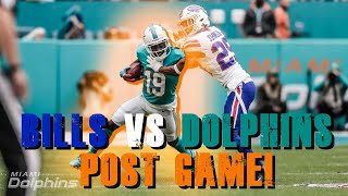 Buffalo Bills vs Miami Dolphins Week 11 Post Game!!!