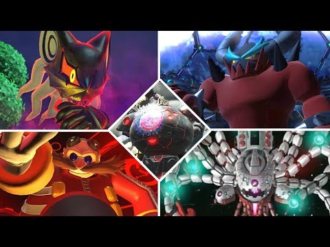 Sonic Forces - All Bosses