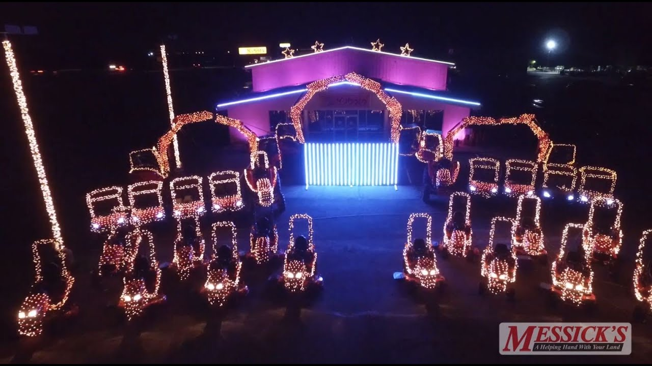 2015 Tractor Light Show Lincoln Brewster Joy To The