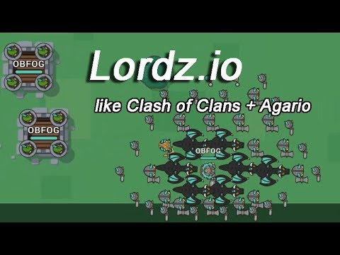 Lordz.io like Clash of Clans + Agario - Giant Army ...  Lordz.io like C...