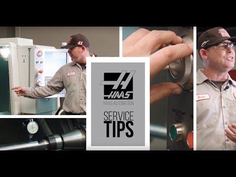 Proper Machine Air Setup - Haas Automation Service Tip
