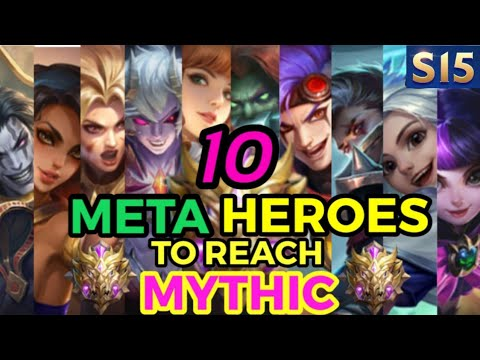 10 META HEROES FOR SEASON 14 || Mobile Legends✔