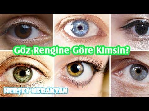 Göz Rengine Göre Karakter Analizi, Göz Rengine Göre kimsin? Herşey Meraktan