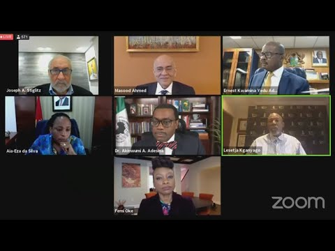 African Development Bank: Virtual launch of the 2021 Africa Economic Outlook