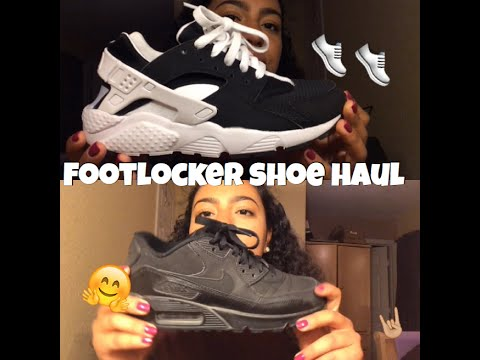 Footlocker shoe haul