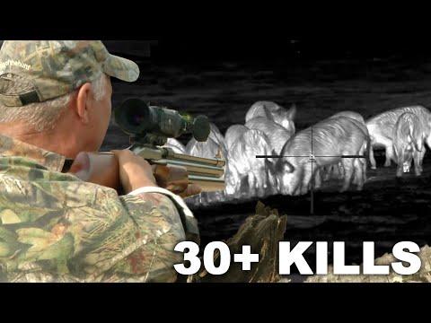 THERMAL GIVEAWAY | Pulsar Hog Hunting Compilation!