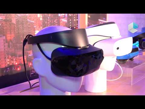 Microsoft HMDs for Windows Mixed Reality by ASUS, DELL, Acer  Lenovo, HP